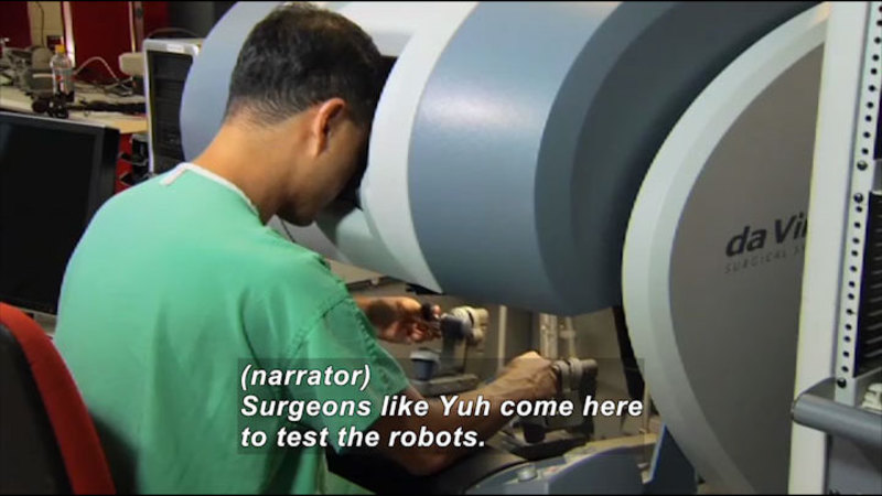 Still image from Science Nation: Surgical Robots