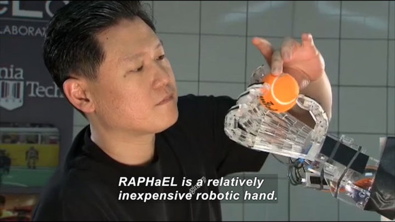 Still image from Science Nation: Acrobatic Robots