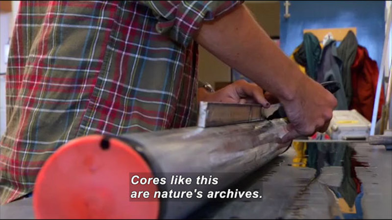 Still image from Science Nation: Hurricane Sleuth