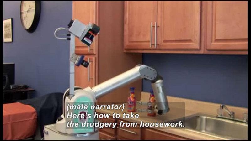 Still image from Science Nation: Robot Butler HERB