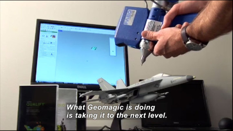 Still image from Science Nation: Geomagic