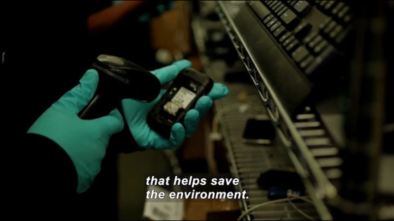 Still image from Scientists & Engineers On Sofas (And Other Furnishings): Flip Phones Save The World