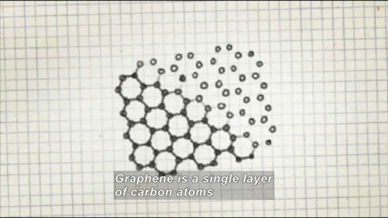 Still image from Fast Draw: Graphene