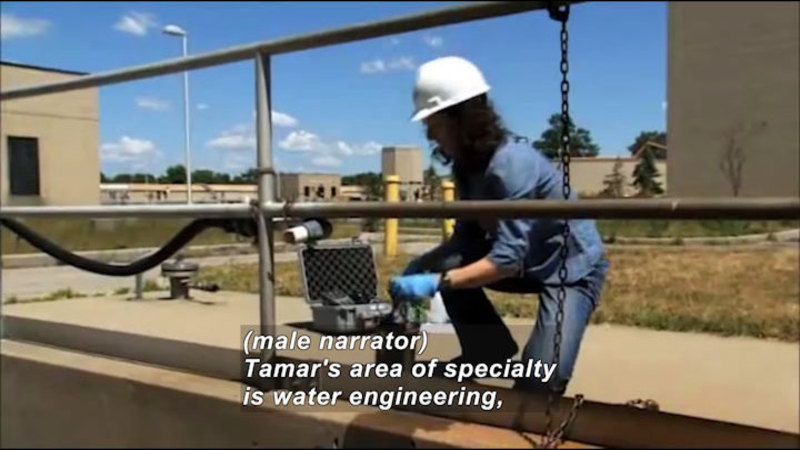 Still image from Profiles Of Scientists And Engineers: Environmental Engineer