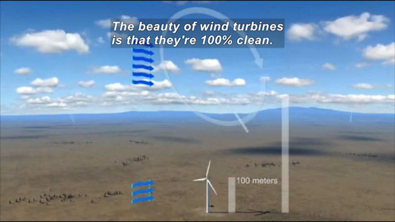 Still image from Green Revolution: Wind Power