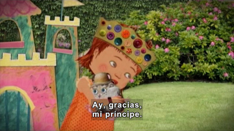 Still image from Through More Adventures: The Princess And The Hamster (Spanish)