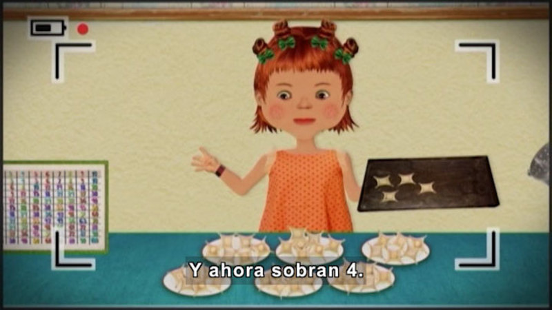 Still image from Through More Adventures: The Dish Festival (Spanish)