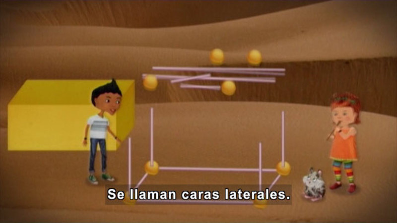 Still image from Through More Adventures: The Geometry Project (Spanish)