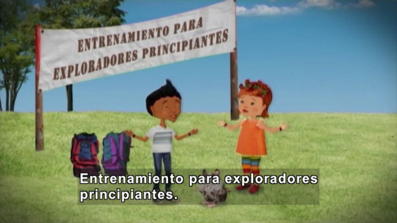 Still image from Through More Adventures: An Experienced Explorer (Spanish)