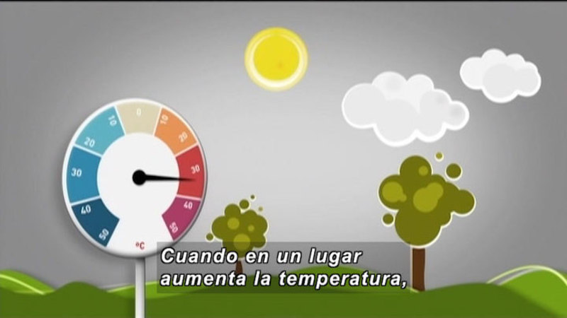 Still image from Invisible Science And Technology Surrounding: Meteorological Station (Spanish)