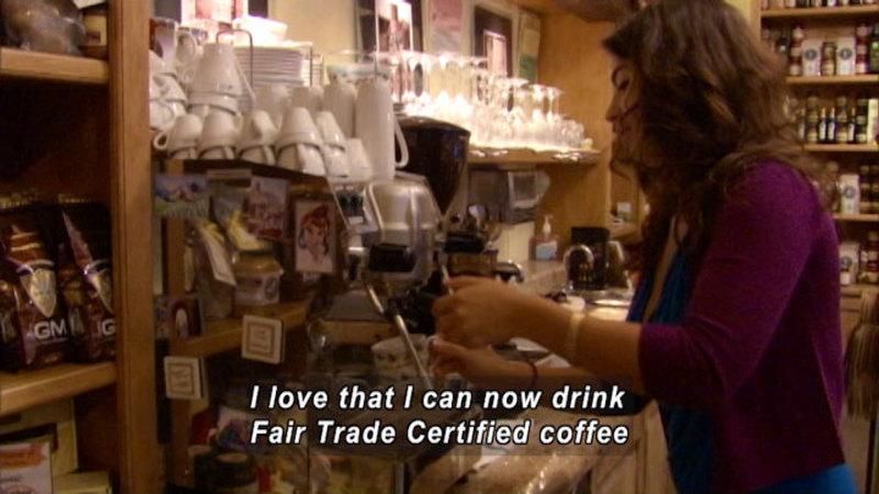 Still image from Fair Trade