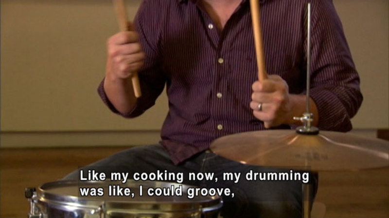 Still image from Jamie Oliver: Food Is Like Music