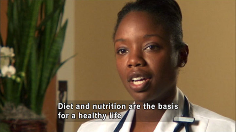 Still image from Nadine Burke, M.D.: Food Is Health