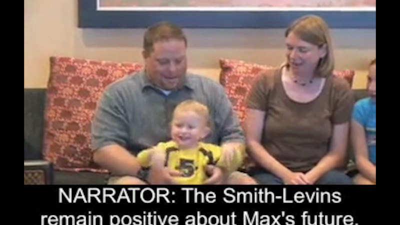 Smith-Levin Family: Max, Age 2, Bilateral Anophthalmia