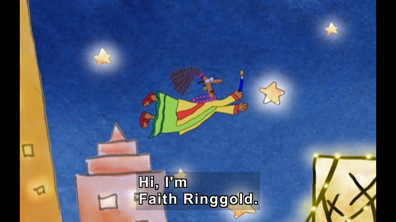 Still image from Getting To Know Faith Ringgold
