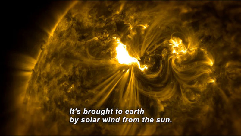 Still image from Hazards: Geomagnetic Storms
