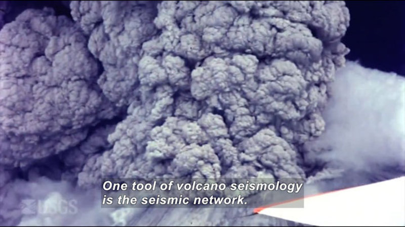 Still image from Volcano Web Shorts 3: Seismology