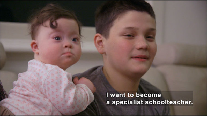 Still image from Harry: My Story About Down Syndrome