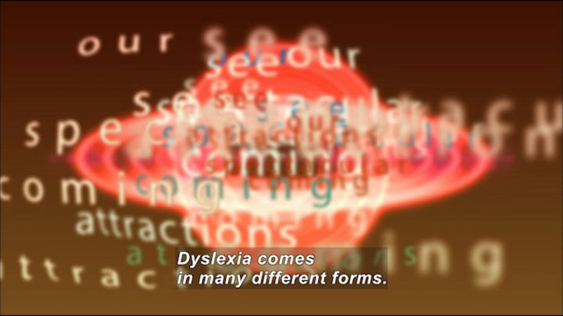 Still image from Lucas: My Story About Dyslexia
