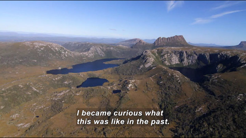 Still image from Cradle Of Fire: Exploring Tasmania's Past
