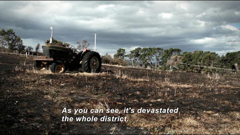 Still image from Faces Of Fire: Tasmania 2013