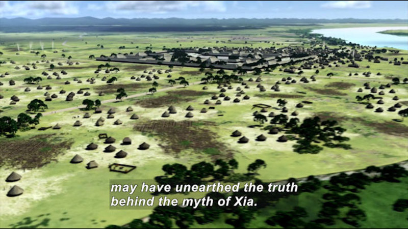 Still image from China 2000 B.C.--Unearthing The Truth Behind A Myth: The Xia Dynasty
