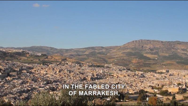 Still image from Born To Explore: Morocco