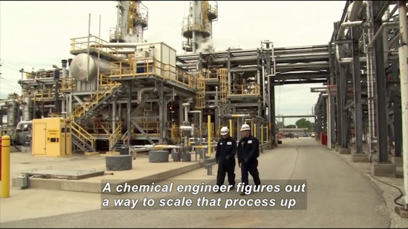 Still image from Career Connections: Chemical Engineer