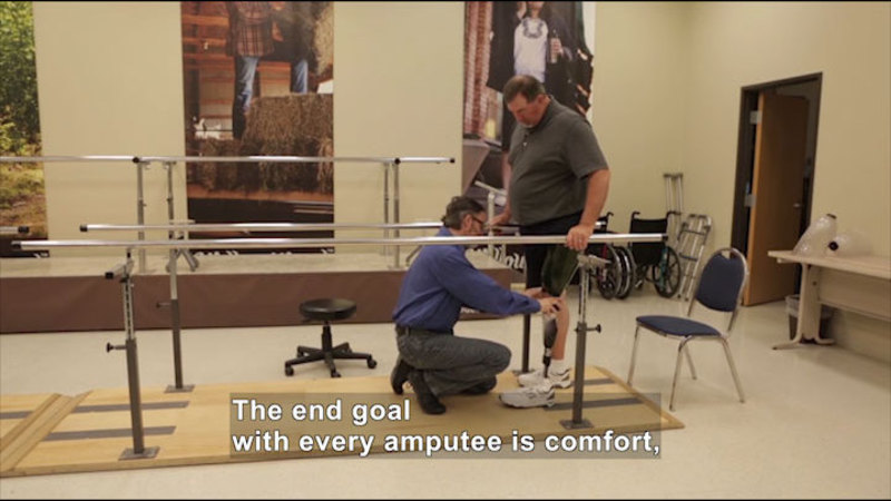 Still image from Career Connections: Prosthetist (WillowWood)