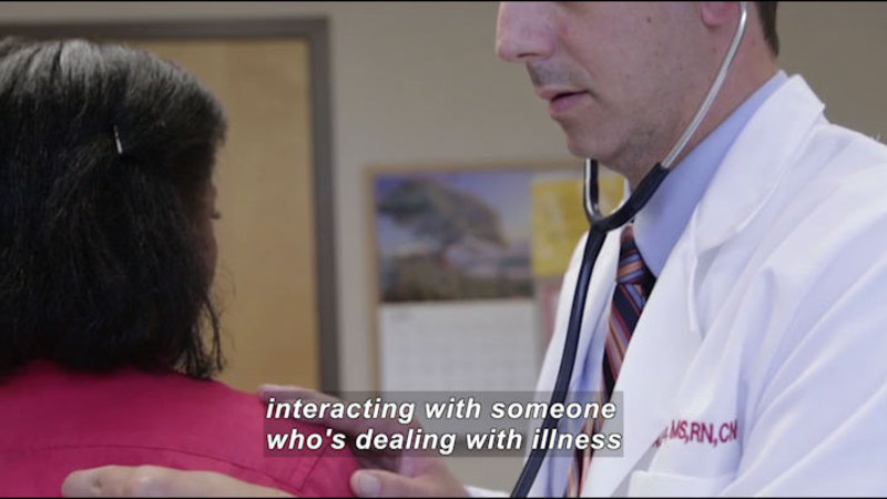 Still image from Career Connections: Nurse Practitioner