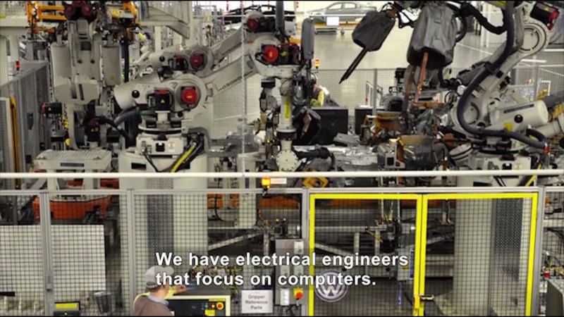 Still image from Career Connections: Electrical Engineering