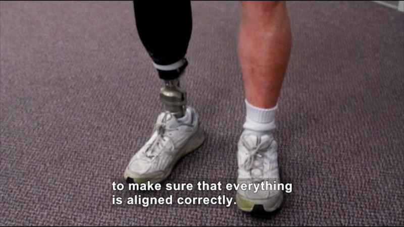 Still image from Career Connections: Prosthetist (Dayton Artificial Limb)