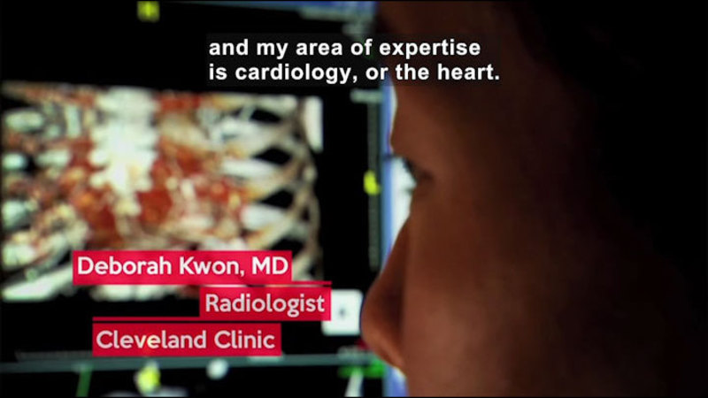 Still image from Career Connections: Radiologist