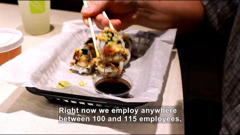 Still image from Career Connections: Restaurant Entrepreneur