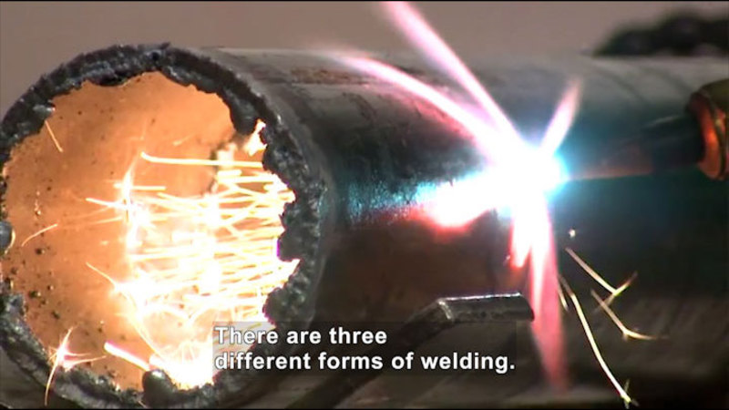 Still image from Career Connections: Welding