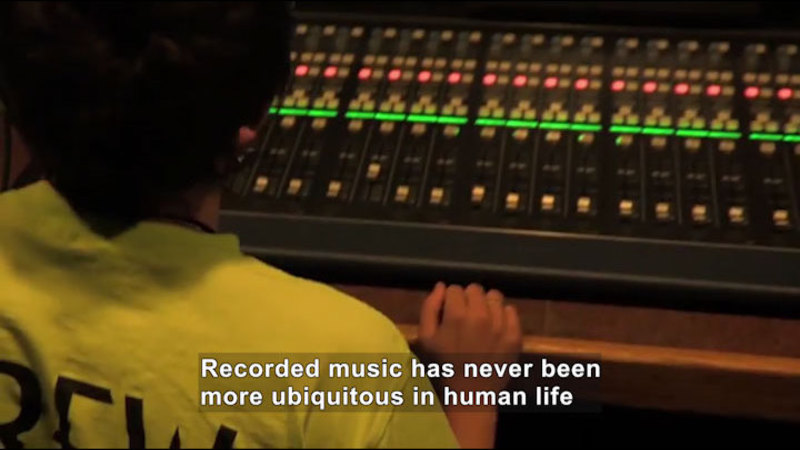 Still image from Career Connections: Sound Engineer