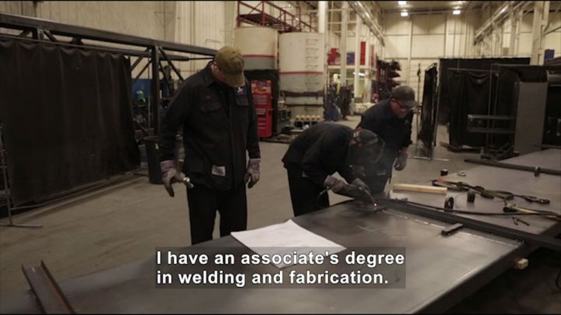 Still image from Career Connections: Weld Shop Supervisor