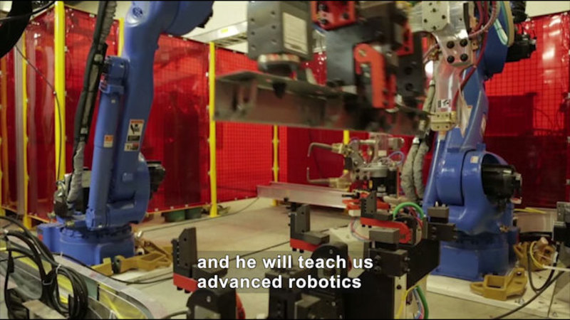 Still image from Career Connections: Advanced Manufacturing Engineer