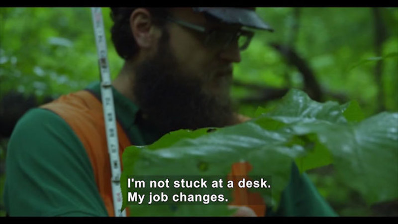 Still image from Career Connections: Natural Sciences Manager