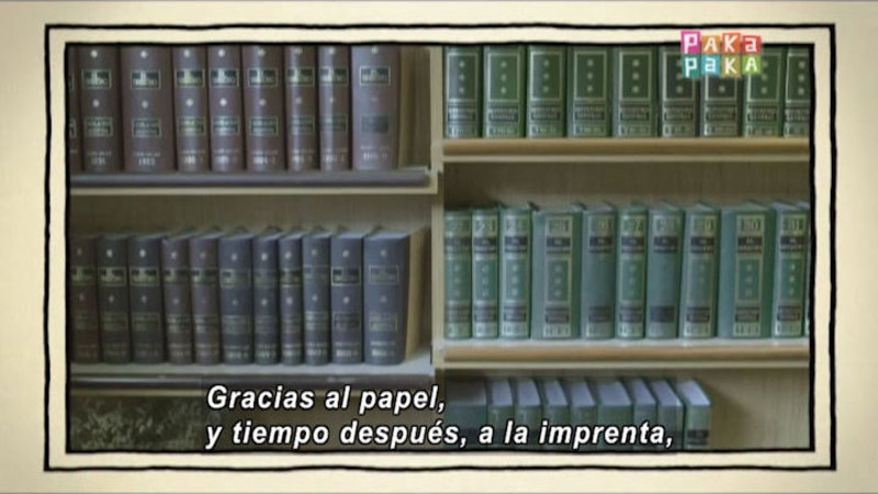 Still image from The Shape of the World: Paper (Spanish)