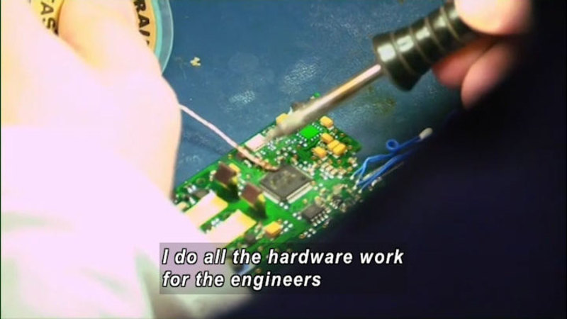 Still image from Advanced Manufacturing and Applied Engineering Technology: STEM Careers in Two Years