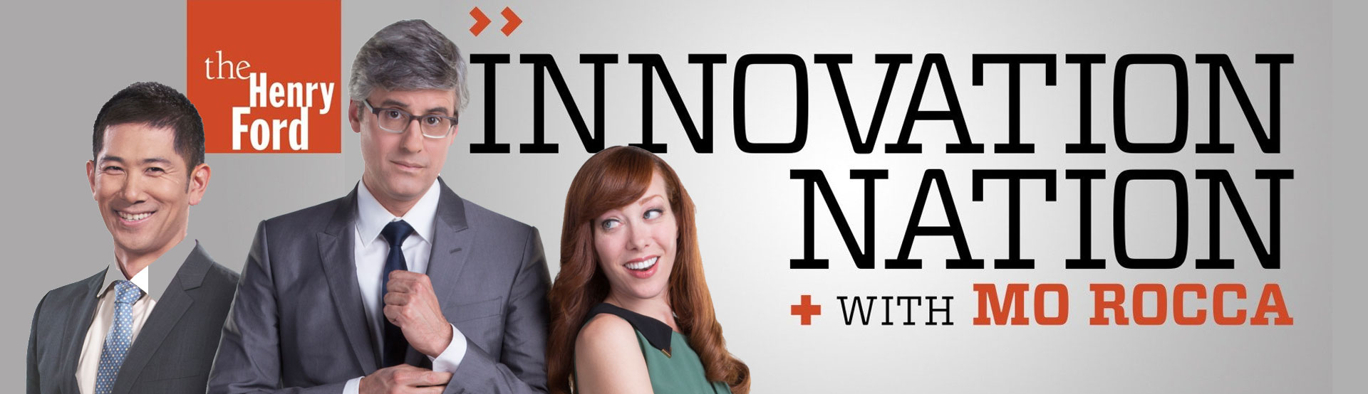 Banner image for The Henry Ford Innovation Nation With Mo Rocca