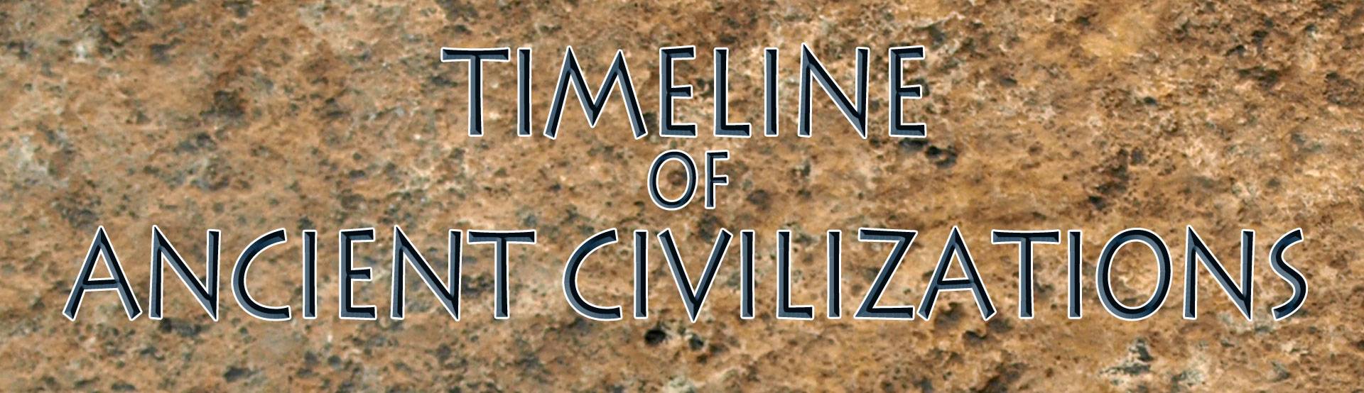 Timelines Of Ancient Civilizations