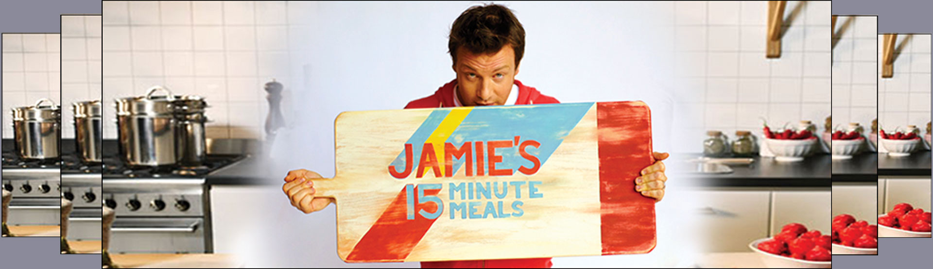 Banner image for Jamie's 15 Minute Meals