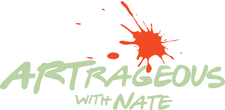Artrageous With Nate Logo
