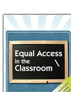 Equal Access in the Classroom, the DCMP's groundbreaking teacher training resource is now available from Google Video and You Tube.