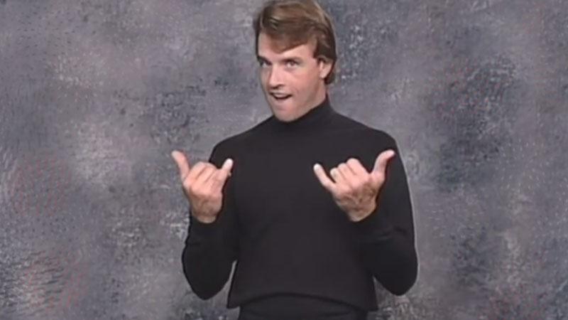 Image from: Bravo: Beginning ASL Videocourse